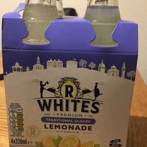 R Whites Traditional Cloudy Lemonade 4 Pack @ Jack Fulton's discount offer