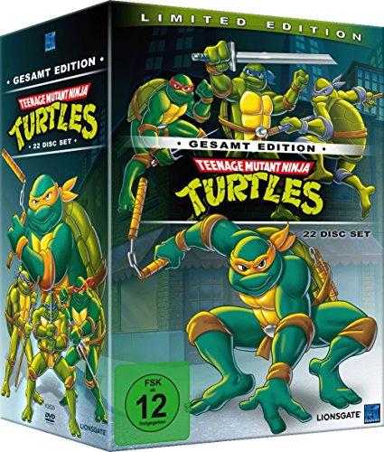 Teenage Mutant Ninja Turtles Limited Edition - Gesamt Edition (22 DVD Disc Set) £31.97 Delivered @ Amazon DE
