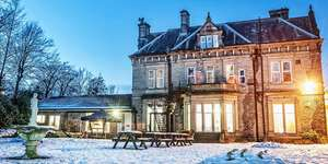West Yorkshire 19th Century Manor stay [Durker Roods Hotel] with full English breakfast and dinner (worth £36.50) & wine for two (worth £10.95) only £59 per couple @ TravelZoo