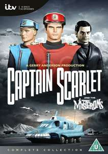 Captain Scarlet - The Complete Collection DVD £13.49 @ Zavvi