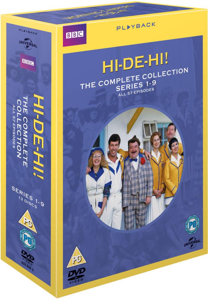 Hi-De-Hi - The Complete Collection DVD £14.99 @ Zavvi