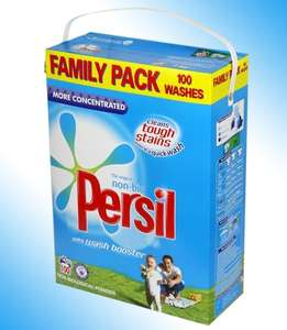 Persil washing powder mega pack 100 washes for £9.99 @ farmfoods