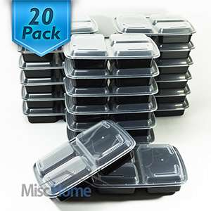 20 reusable BPA free meal prep containers  £16.89/ £20.88 without Prime Sold by MiscHome Inc. and Fulfilled by Amazon