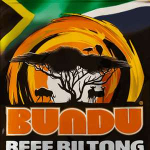 Bundu Biltong Original 85g pack scanning in Sainsburys for 20p RRP £3.00