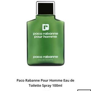 PACO RABANNE Pour Homme EDT Spray 100ml £21.95 Fragrance Direct