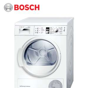 Bosch WTW863S1GB A++ Heat Pump 7kg Load Capacity Self Cleaning Condenser Tumble Dryer £374 with code at  Hughes