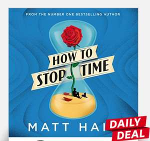 Audible deal of the day - How to Stop Time by Matt Haig - £1.99