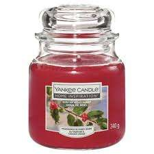 Medium Home Inspiration Yankee Candle Cherry. Older style not most recent £2.25 instore at Tesco Accrington