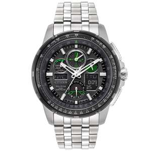 Citizen Skyhawk A.T Men's Stainless Steel Bracelet Watch £295 @ Earnest Jones