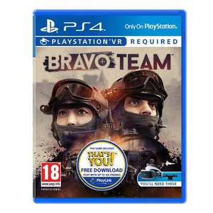 Bravo Team VR [PS4] £19.99 @ Smyths (C&C)