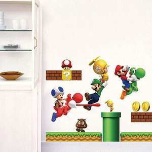Gaming Themed Wall Stickers -  80p delivered w/code @ Dresslily