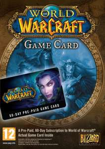 World of Warcraft 60 Day Pre-paid Game Card PC/Mac £17.99 @ CDKeys (£17.09 Using Facebook Code)