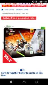 Disney infinity 3.0 star wars starter kit - Xbox 360 + Free click & collect £5 @ The Works