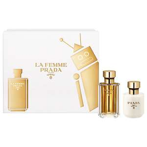 Prada La Femme 50ml EDP gift set £38 (was £68.50) at John Lewis with free Click & Collect
