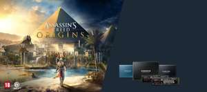 last day!1 Valid from Oct 13. 2017 to (Jan 08. 2018 ) - Buy a qualifying SSD for a free download of Assassin's Creed Origins @ Samsung