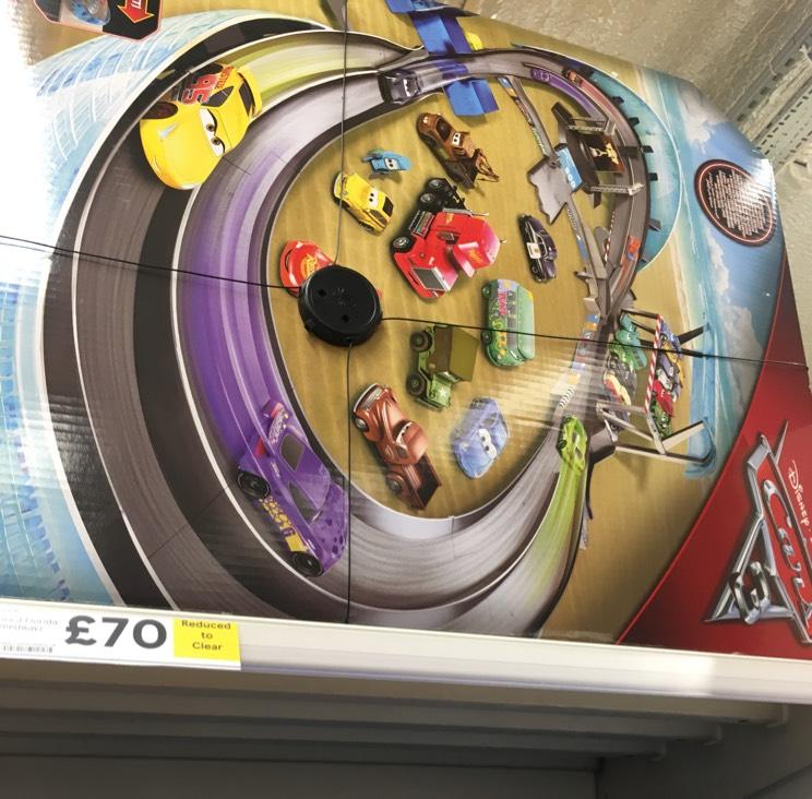 Disney cars speedway scanning at £25 Tesco - Orpington