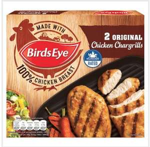 Birds Eye 2 Original Chicken Chargrills 170g £0.95 @ Iceland