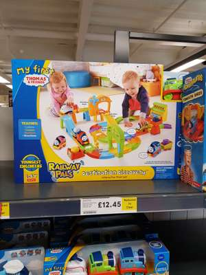 Thomas & Friends Railway Pals Destination Discovery / In-store only £12.45 @ Tesco Inverurie Harlow Road