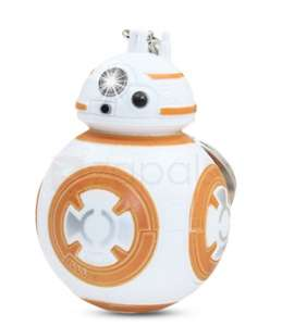 3D Star Wars BB-8 BB8 droid robot keychain with light and sound. Free, just pay postage 46p @ Zapals.