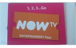 Now TV - 4 Month Entertainment Pass £14.99  jd_1989-5 / Ebay