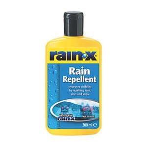 Rain X Rain Repellent 200ml - £6.99 @ Screwfix (free C+C)
