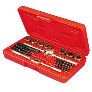 Carbon Steel Tap & Die Set 16Pc £2.99 (C+C) £7.99 (Delivered) @ Screwfix