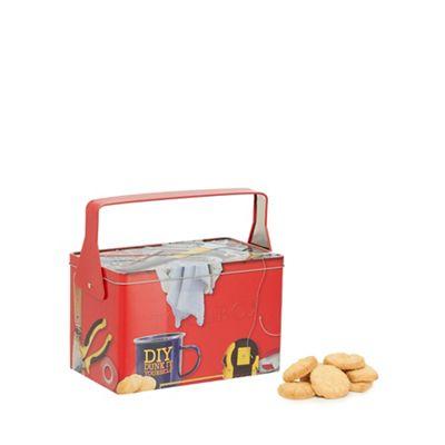 Tool box tin with biscuit exp 04/19 now £4 @ Debenhams - £2 c&c