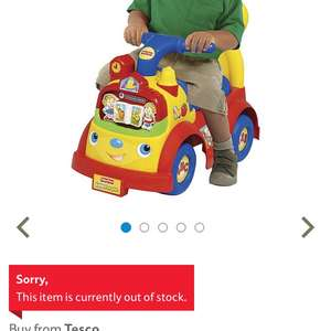 Fisher price little people ride on £10 @ Tesco - western ave Cardiff