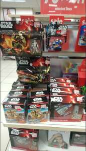 Star Wars toys and gifts half price in Peacocks (Barry)