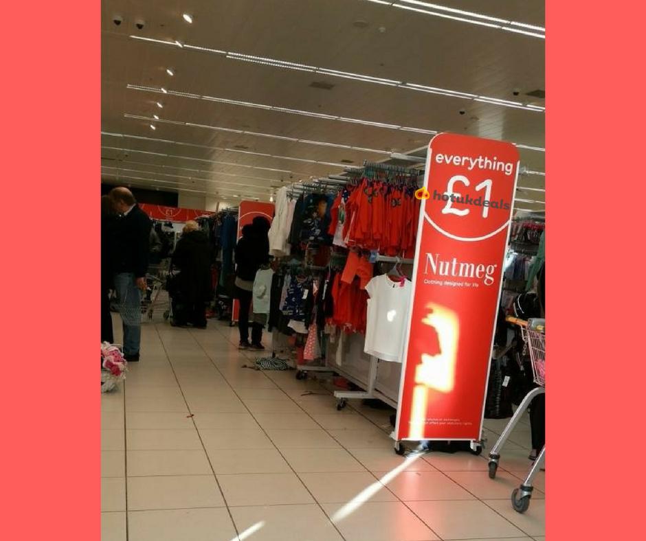 Morrisons - Openshaw  clothing everything £1