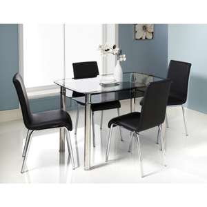 boston dining set £169 @ B&M