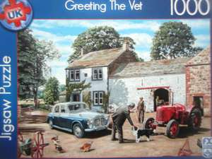 1000 Piece jigsaws reduced to £2.27 Scanning at £1.49 instore @ Aldi