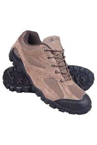 Mountain Warehouse Size 6 Outdoor Men's Walking Shoes - Light Brown (reduced from £39.99)