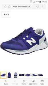 New balance sneakers most sizes available @ Amazon from £24