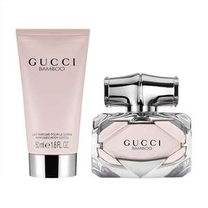 Gucci Bamboo EDP 30 ml gift set £26.95 with code / £28.94 delivered @ Fragrance direct
