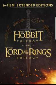 Hobbit and LOTR Extended Editions HD Downloads at Google Play Store for £34.99