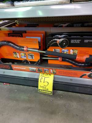 Black & Decker Snake Wand Watering Nozzle @ homebase Lincoln now £5 was £11.92,
