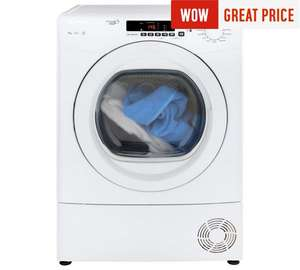 Candy GVS C9DG 9KG Condenser Tumble Dryer- White £189 @ Argos