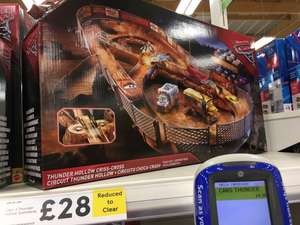 Cars thunder hollow criss cross circuit £14.20 @ Tesco - eston