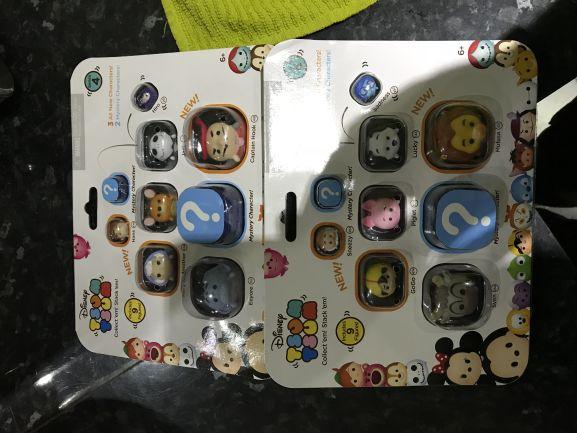 Disney Tsum Tsum pack of 9 £2.35 @ Tesco - Hucknall Nottingham