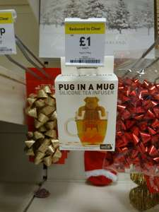 Pug in a Mug Tea Infuser Reduced from £4 to £1 Tesco In-store