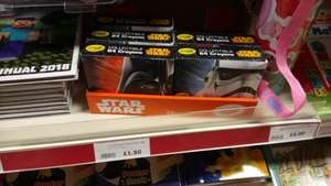 Star wars Crayola crayons 64 pack at The Range for £1.50