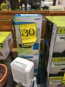 Prima Desiccant Dehumidifier £30 was £100 at homebase instore