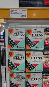 Nandos 2x £20 gift vouchers for £33.99 at costco