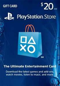 [US-PSN] Playstation Network $20.00 Card (US)