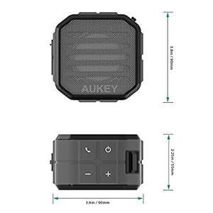 AUKEY Bluetooth Speaker 60% off Prime price of £6.80 Prime / £10.79 Non Prime from Amazon