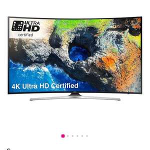 Samsung UE49MU6220KXXU 49 Inch, 4K Ultra HD Certified, HDR, Smart, Curved TV £499.99 @ Very