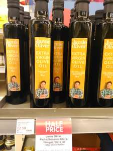 Jamie oliver extra virgin olive oil 500 mls £2.50 @ Waitrose