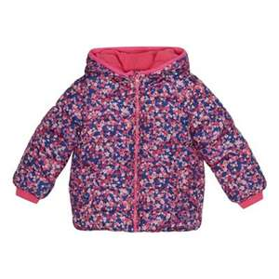 bluezoo - Girls' multi-coloured floral print padded shower resistant coat £10.50 @ Debenhams