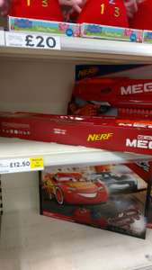 Nerf and strike mega twin shock £12.50 In Shepton Mallet Tesco